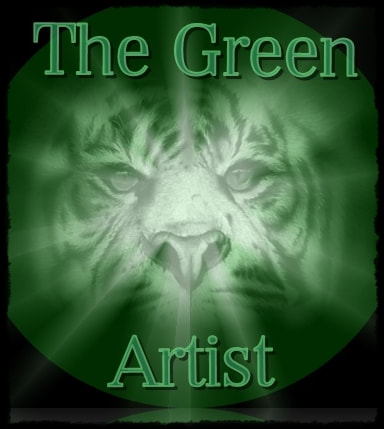 The Green Artist logo