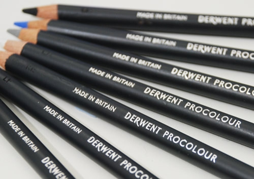 derwent Procolour Coloured pencils